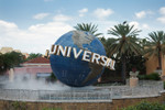 Entrance to Universal Studios theme park Orlando.  This is one of the best attractions in Orlando, if you only visit one park while in Orlando, this should be the one!  For the best prices and deals check out www.MiamiSightSeeingTours.com