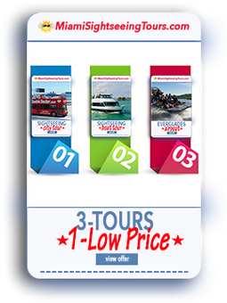 3 IN 1 Super Saver Bus Tour + Boat Tour + Everglades