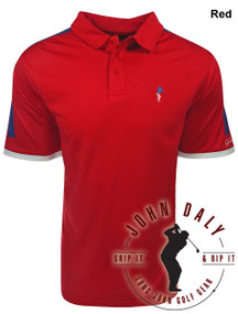 Contrast Shoulder Performance Polo