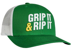 Grip It 'N Rip It Trucker Snapback Cap