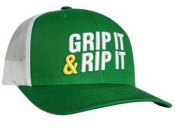 Grip It 'N Rip It Trucker Snapback Cap