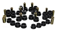 Energy Suspension 13 Scion FR-S / Subaru BRZ Black Front Control Arm Bushing Set