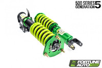 Fortune Auto 500 Series Gen 5 Coilovers - Scion FR-S / Subaru BRZ