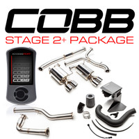 Cobb Tuning Subaru Stage 2 + Big SF Power Package (Non-Resonated J-Pipe) WRX 6MT 2015-2016