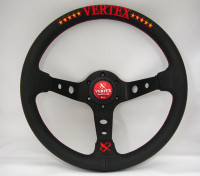 Vertex 10 Star Steering Wheel 330mm - Red