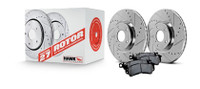 Hawk Performance 1994 Nissan 240SX Sector 27 Rotors w/ HPS 5.0 Brake Pads - Kit
