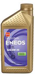 ENEOS High Performance Fully Synthetic Motor Oil (6 Qt)