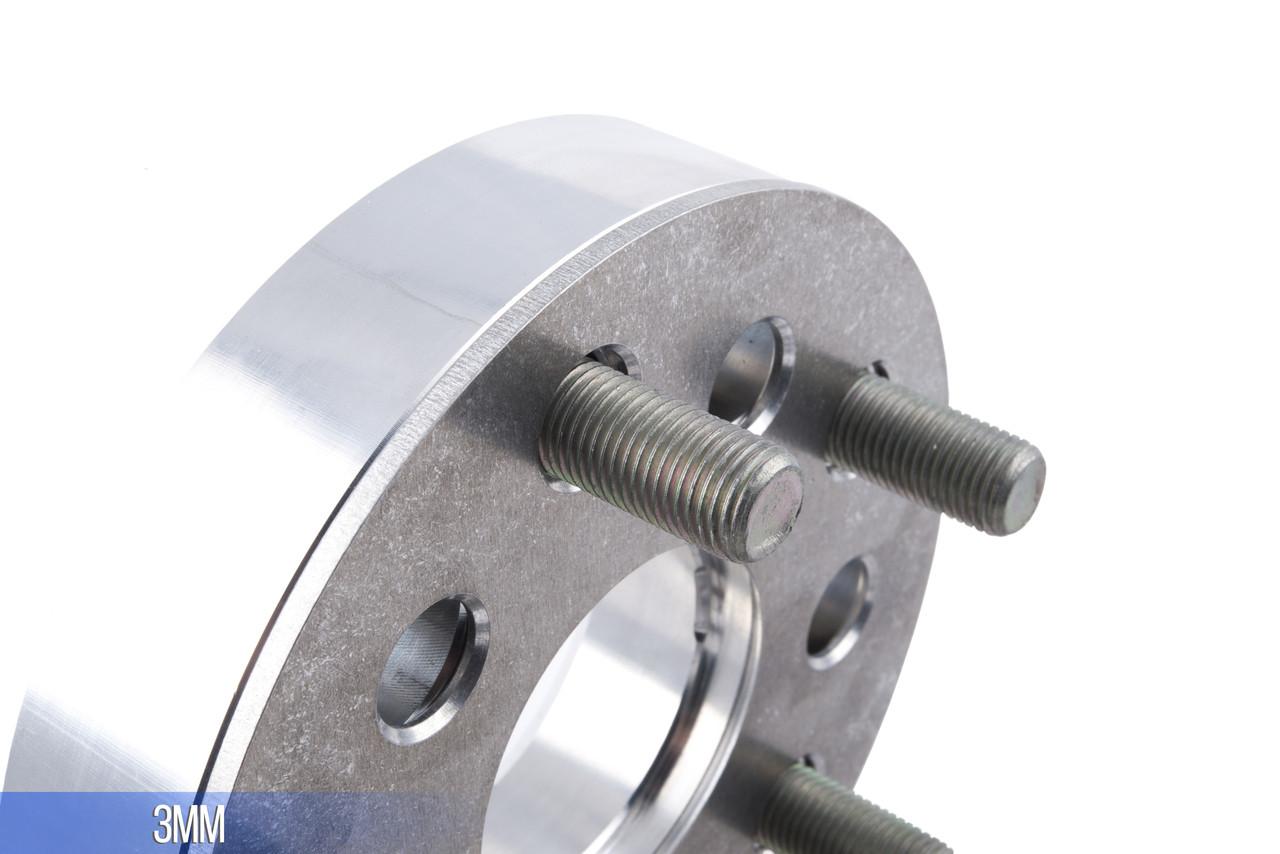 Dual Wheel Spacers : Vw audi dual pattern hubcentric wheel spacers draft