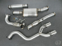 "VW Mk6 Golf R 3"" Turbo-Back Exhaust System"
