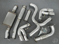 "Audi Mk2 TTS 3"" Turbo-Back Exhaust System"