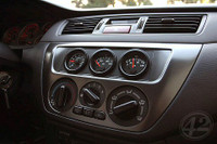 Lancer EVO Triple Gauge Panel