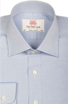 Pinpoint Oxford Blue (Regular fit)