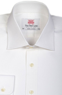 Pinpoint Oxford White (Regular fit)
