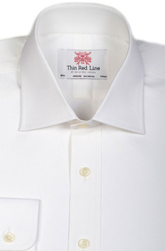 Pinpoint Oxford White (Slim fit)