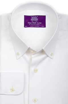 Pinpoint Oxford White (Semi-fitted)