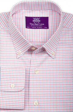 Oxford Yarn-dyed Check (Semi-fitted)