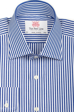 Bengal Stripe Navy (Slim Fit)