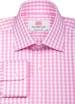 Wild Gingham Pink (Regular Fit)