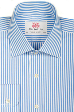 Sky Blue Bengal Stripe (Slim fit)