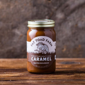 Fat Toad Farm Salted Bourbon Caramel Sauce