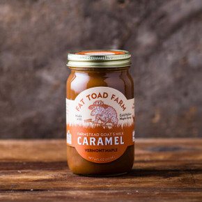 Fat Toad Farm Vermont Maple Caramel Sauce