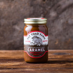 Fat Toad Farm Irish Whiskey Cream Caramel Sauce