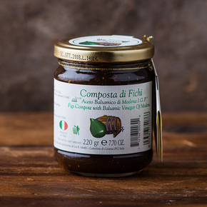 Composta di Fichi Fig Balsamic Compote