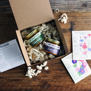 Fat Toad Sweets & Blooms Gift Box