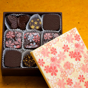 Charles Chocolates  Edible Chocolate Box