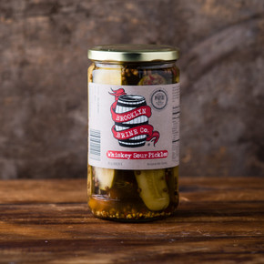 Brooklyn Brine Co. Whiskey Sour Pickles