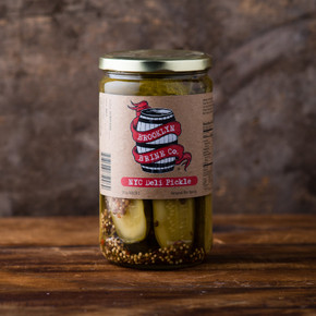 Brookly Brine Co. NYC Deli Pickles