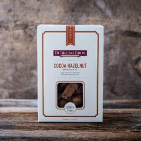 Cocoa Hazelnut Biscotti