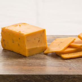 Garlic and Herb Cheddar Cheese