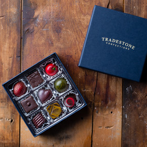 Tradestone 9 Piece Chocolate Box