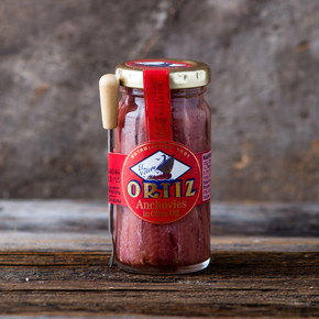 Ortiz Anchovies in Olive Oil