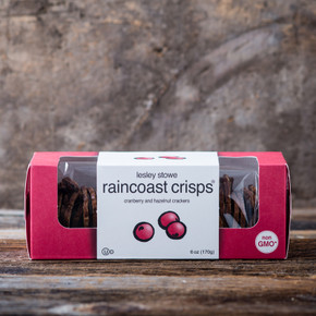 Lesley Stowe Fine Foods Cranberry and Hazelnut Raincoast Crisps