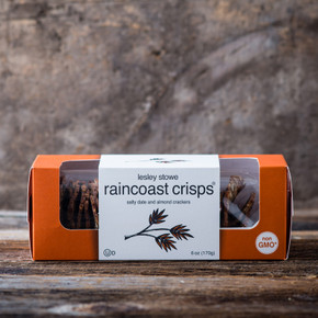 Salty Date and Almond Raincoast Crisps