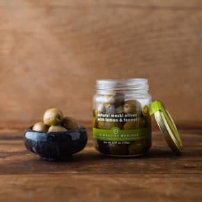 Les Moulins Mahjoub Lemon & Fennel Meski Olives