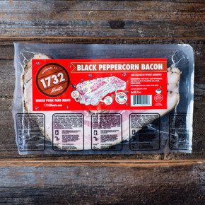 1732 Bacon Black Peppercorn Bacon