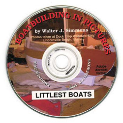 Littlest Boats CD face.
