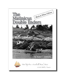 The Matinicus Double Ender, black and white book