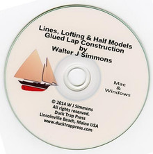 Lines, Lofting & Half Models+Glued Lap Construction, CD