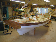 Newfoundland Trap Skiff lofting