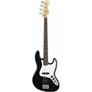 Fender American Standard Jazz Bass - Black, Rosewood Fingerboard w/ Case