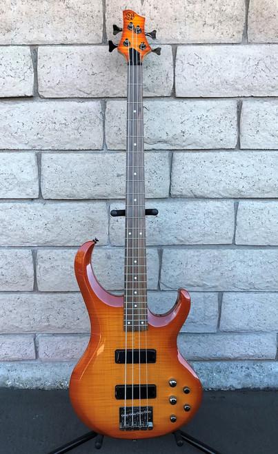 Ibanez BTB300-FMAMB Bass - Flame Maple Top, Amber Burst