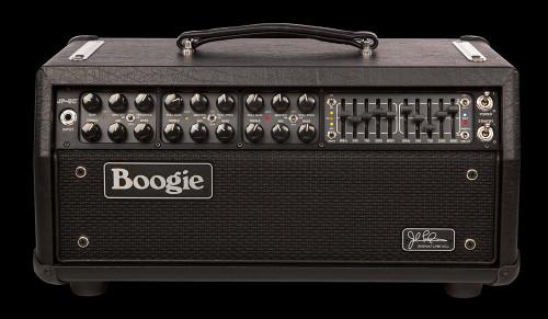 JP-2C John Petrucci All-Tube Guitar Head, Black (2.M2C.BB), front
