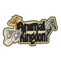 Animal Kingdom Premium Die Cut -  Colored animals