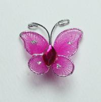 "Butterfly - 1"" Fucshia"