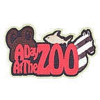 A Day at the Zoo with multi colored animals