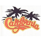 California 3 color die cut